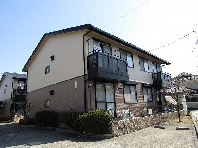 倉敷市四十瀬 アパートの屋根と外壁の塗り替え工事