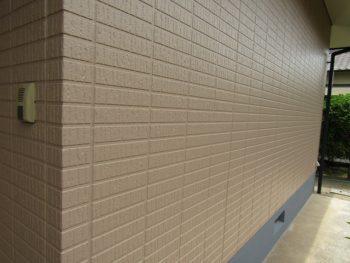 外壁と基礎の完成