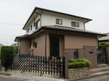 倉敷市福井 無機塗料で長持ち!玄関ドアも塗り替えて新築の様に
