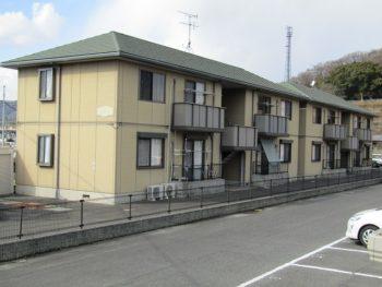 中島のアパート施工前