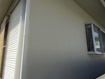 外壁、樋の塗装完成