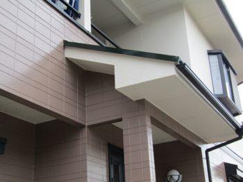 岡山市北区の家の塗装完成