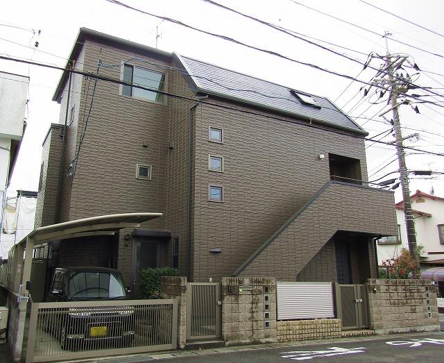岡山市中区で外壁と屋根の塗装!無機塗料で長持ちする家に!