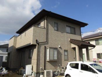倉敷市の住宅塗装!クリアー(透明色)で塗り替え外壁長持ち!