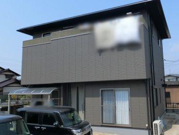 倉敷市水島で外壁塗装 無機塗料で美しくまるで新築の様に!