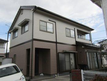 倉敷市の外壁・屋根の塗装!屋根は無機で外壁はアウトレット!