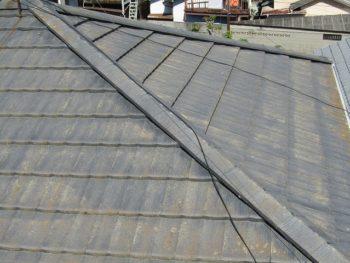 塗装前の屋根