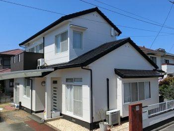 倉敷市で屋根は無機塗料、外壁はフッ素で長持ち塗装!