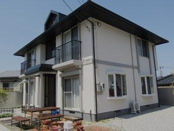 倉敷市で屋根カバー工法と外壁塗装は汚れ防止のトップコートを!