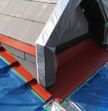 屋根の板金塗装