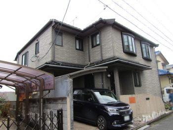 倉敷の外壁塗装前の家