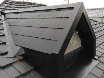 屋根の完成