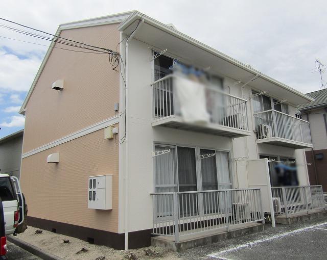 倉敷市のアパート塗装!屋根はフッ素塗料で長持ち!