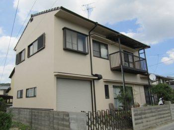 岡山市で屋根と外壁塗装!屋根も外壁もアウトレット塗料で安く!