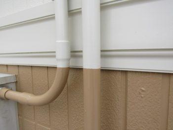 外壁塗装のパーツの塗装