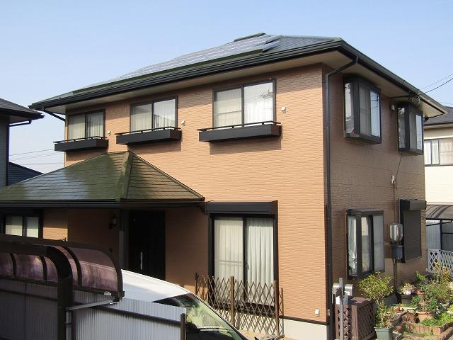 倉敷市で外壁と屋根を無機塗料で塗装し、長持ちでキレイに!