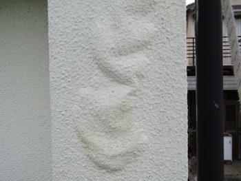 外壁の膨れ