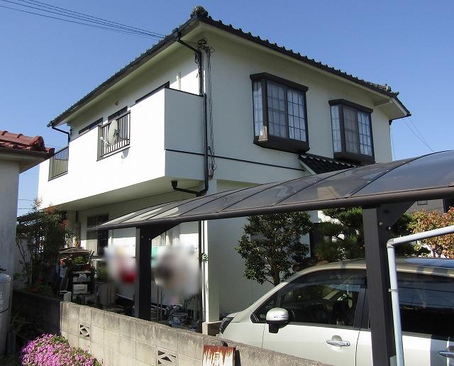 倉敷市 外壁も屋根も汚れにくいフッ素塗料で塗り替えしました!