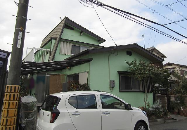 倉敷市 外壁と屋根の板金塗装、波板の張り替えもしました!