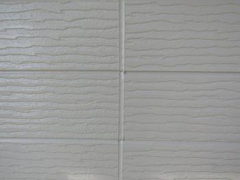 外壁の塗装完成