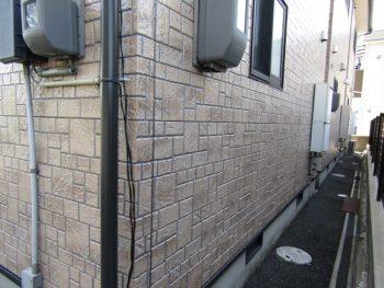 きれいになった外壁