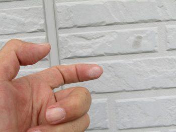 外壁の塗膜の劣化