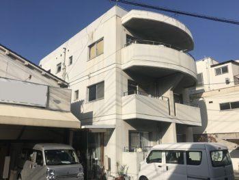 塗装前のアパート