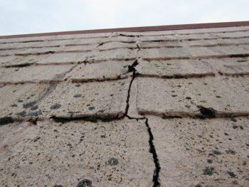 アスファルトシングル屋根の劣化