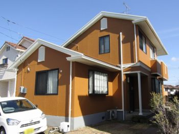 倉敷市 外壁も屋根も長持ちキレイな無機塗料で塗装!