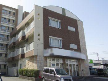 倉敷市マンション塗装 屋根と外壁、階段や廊下の床も塗りました!