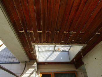 車庫天井の施工前
