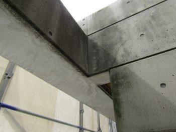 打ちっぱなしコンクリート塗装前