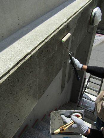 コンクリートの塗装