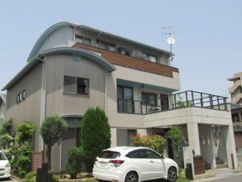 岡山市 外壁と屋根塗装!無機とフッ素、コンクリート塗装も!