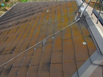 屋根の施行前